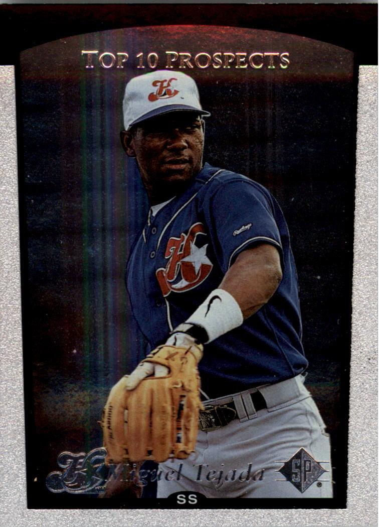1998 SP Top Prospects #5 Miguel Tejada T10
