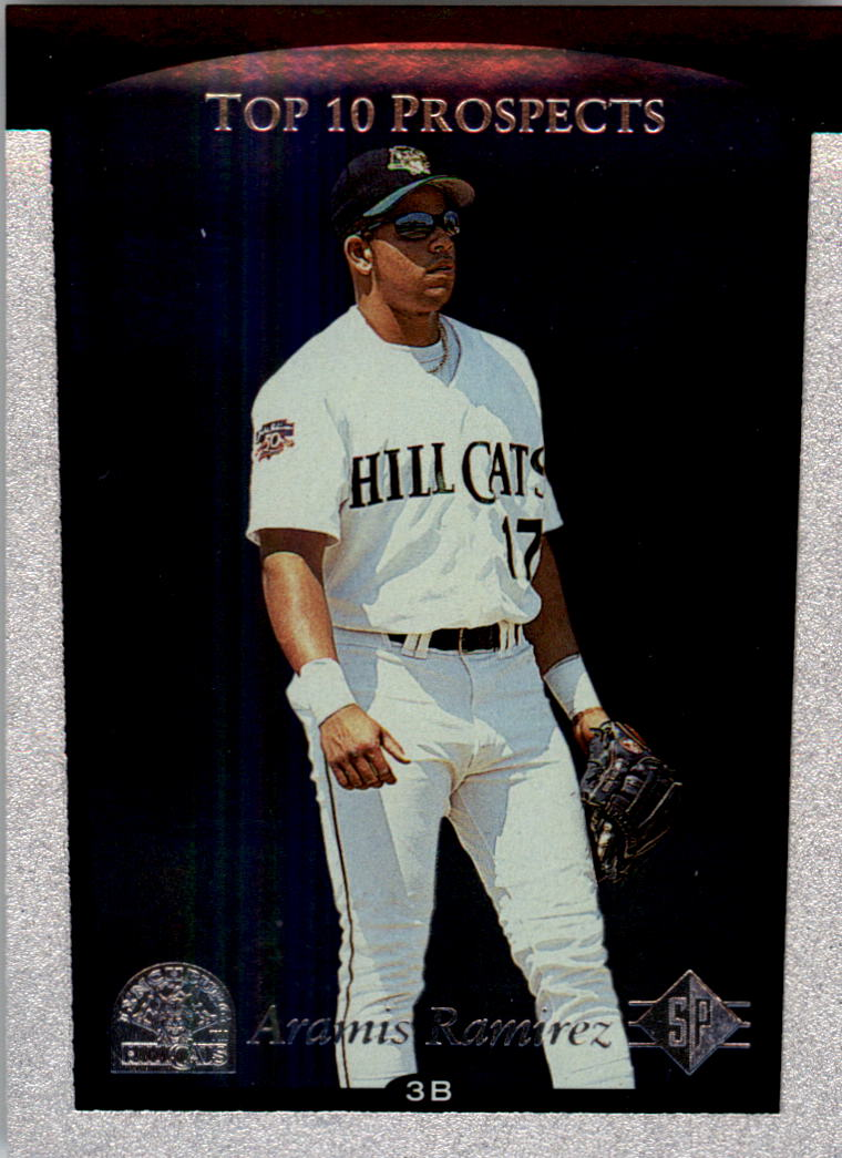 1998 SP Top Prospects #9 Aramis Ramirez T10