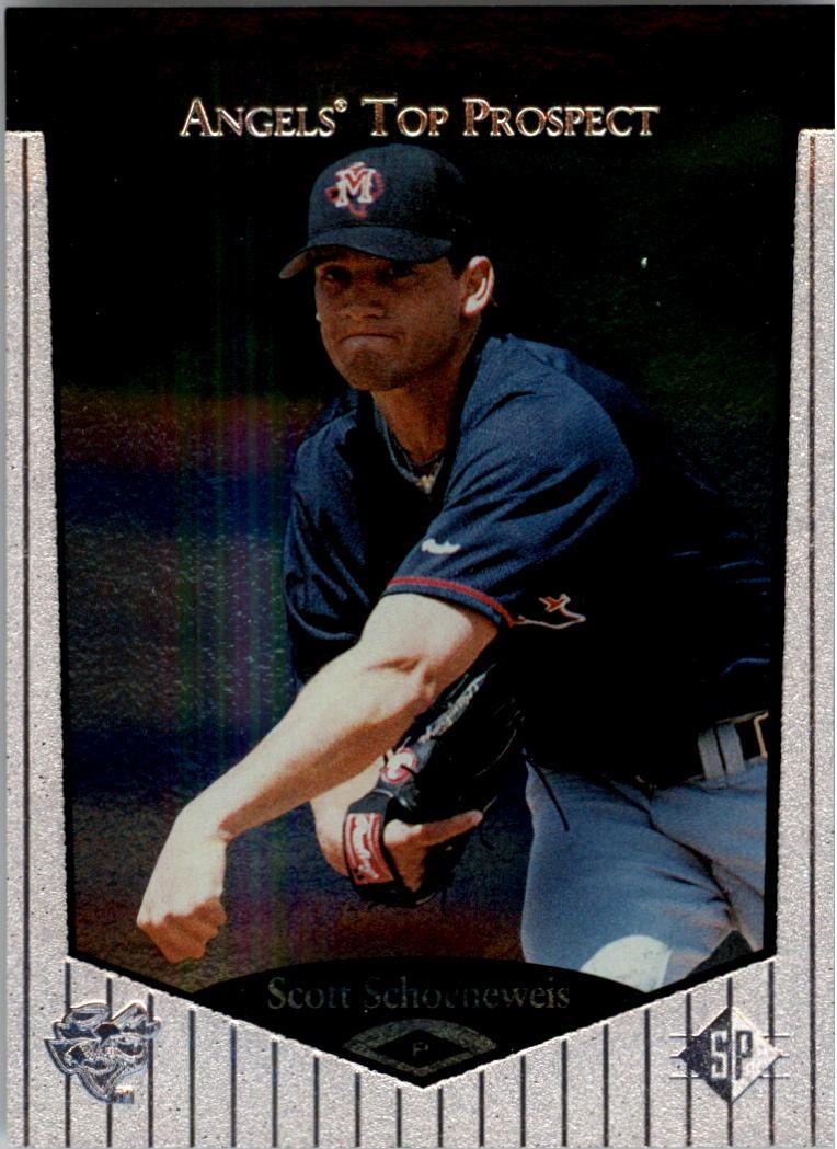 1998 SP Top Prospects #14 Scott Schoeneweis
