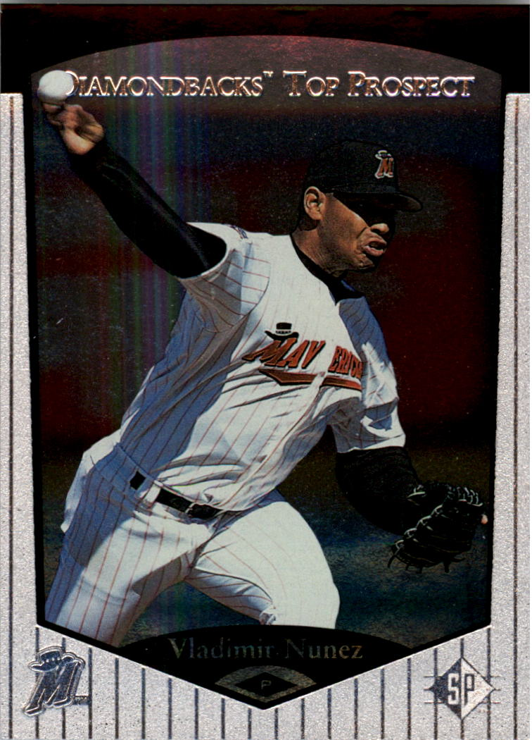 1998 SP Top Prospects #18 Vladimir Nunez
