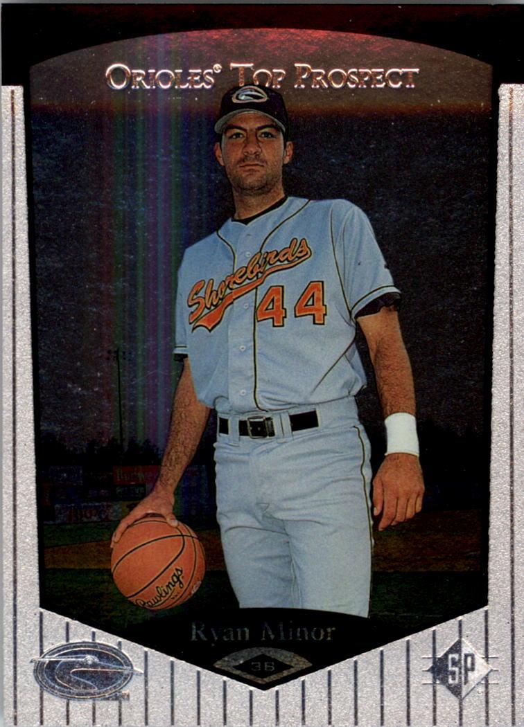 1998 SP Top Prospects #25 Ryan Minor