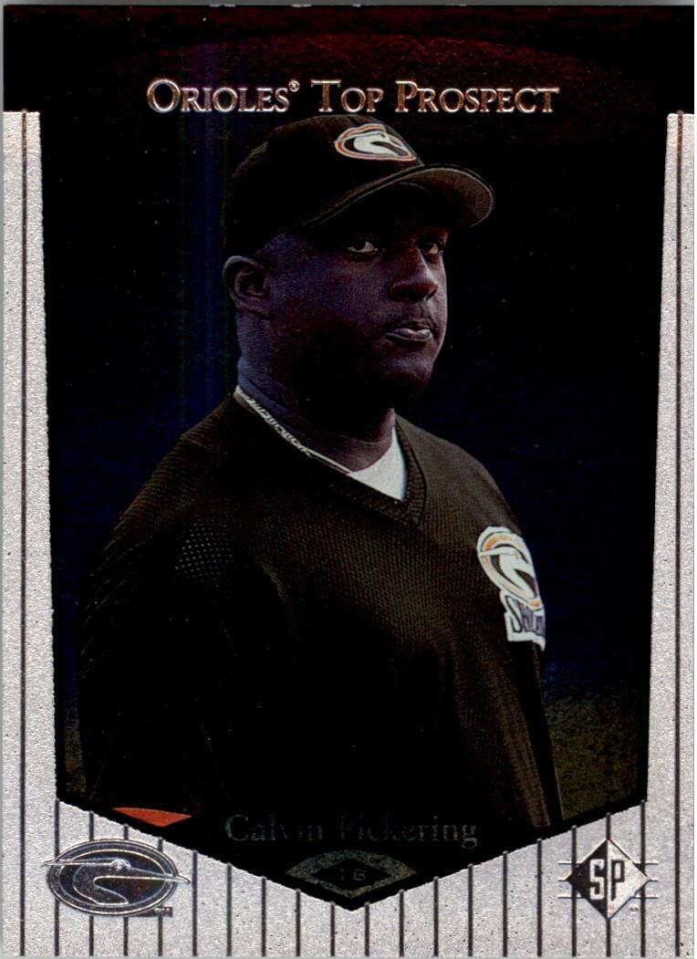 1998 SP Top Prospects #27 Calvin Pickering