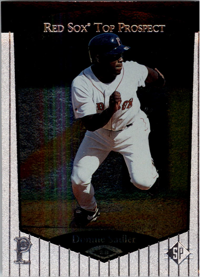 1998 SP Top Prospects #28 Donnie Sadler