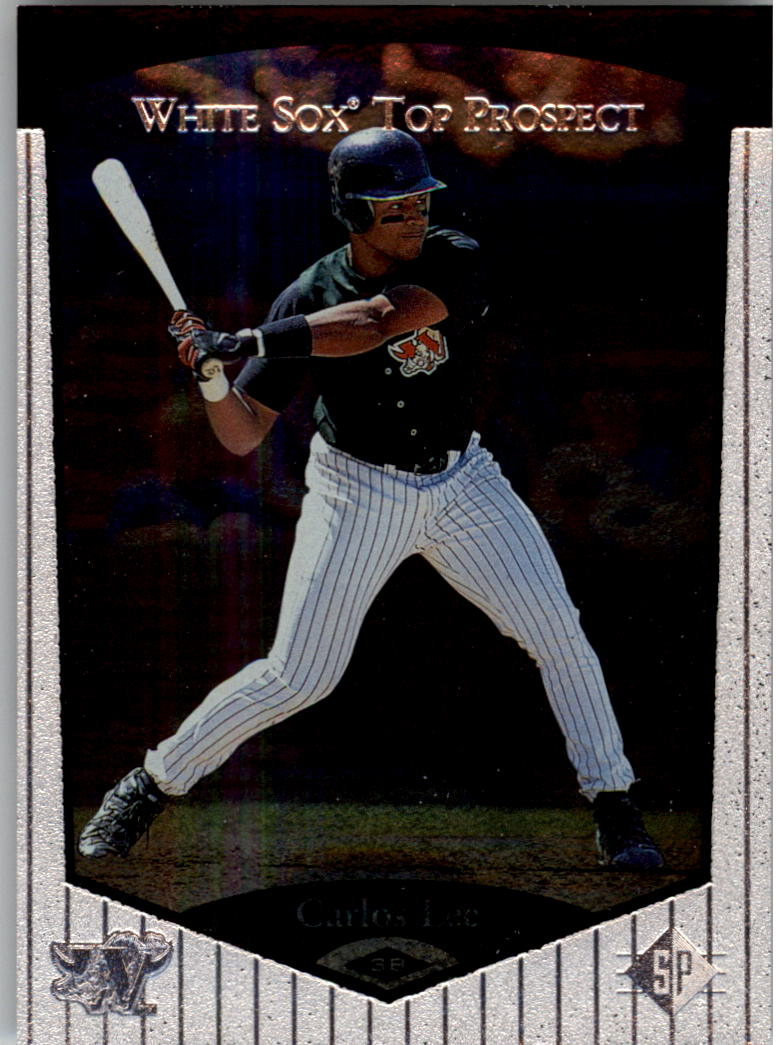 1998 SP Top Prospects #38 Carlos Lee
