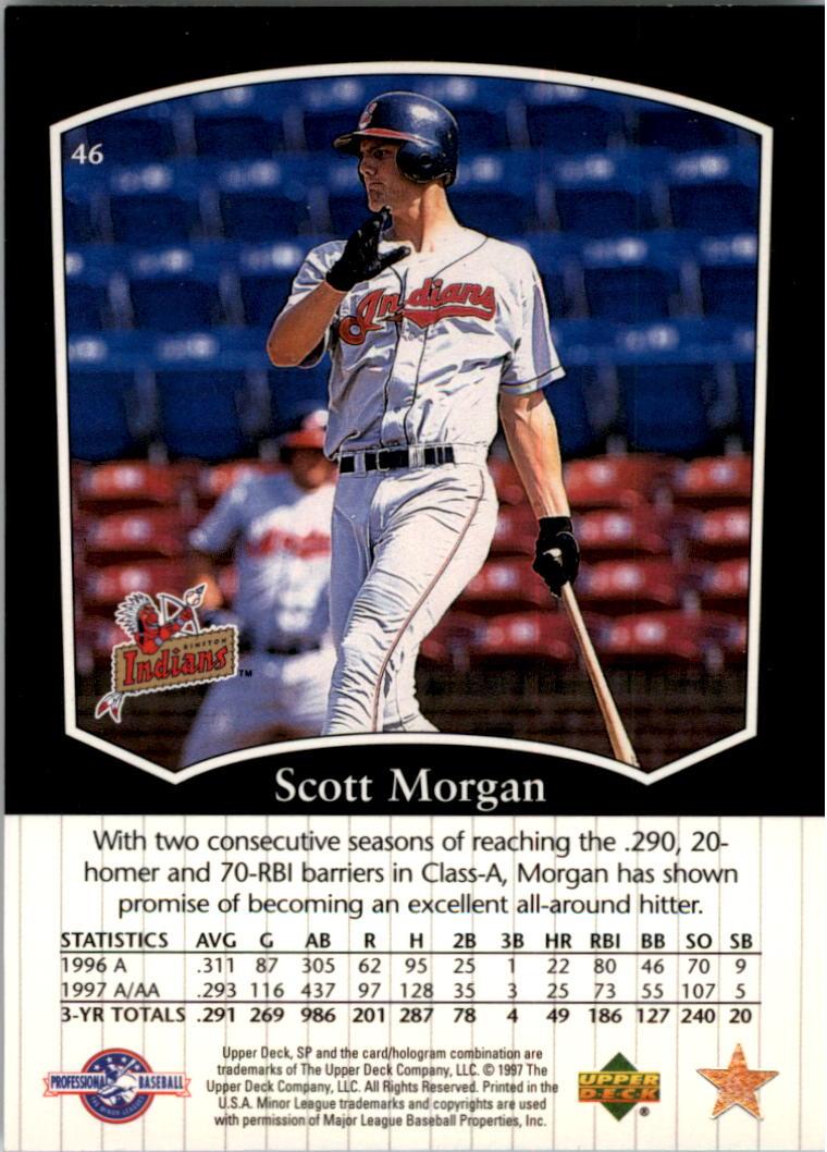 1998 SP Top Prospects #46 Scott Morgan back image