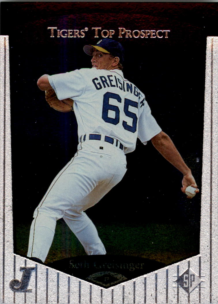 1998 SP Top Prospects #53 Seth Greisinger