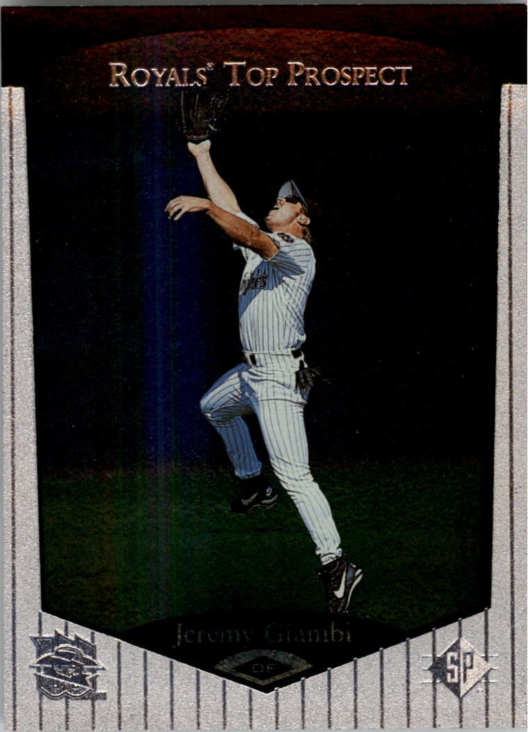 1998 SP Top Prospects #64 Jeremy Giambi