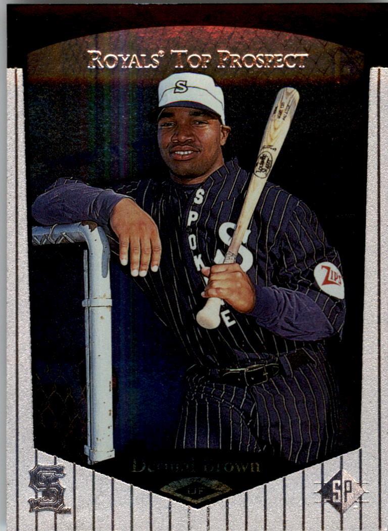 1998 SP Top Prospects #65 Dermal Brown