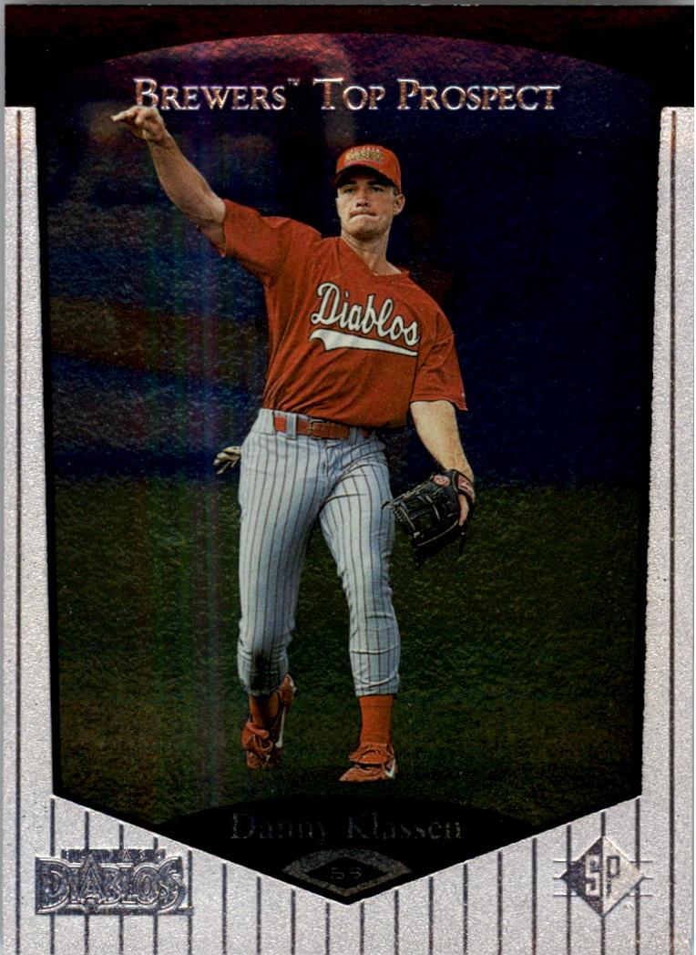 1998 SP Top Prospects #72 Danny Klassen