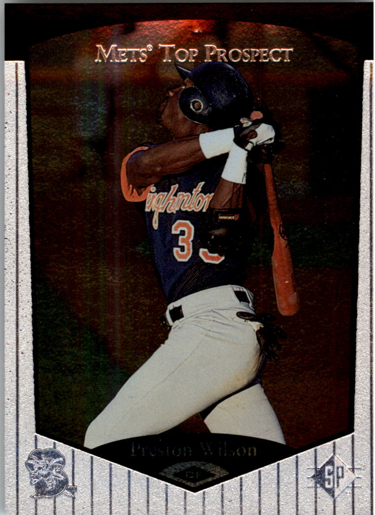 1998 SP Top Prospects #81 Preston Wilson