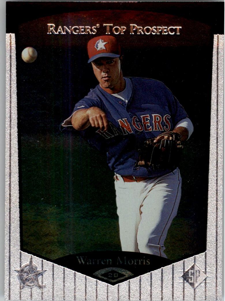 1998 SP Top Prospects #121 Warren Morris