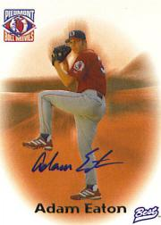 1998 Best Autographs Player of the Year #4 Adam Eaton