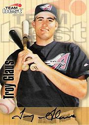 1998 Best Autographs Signature Series #21 Troy Glaus