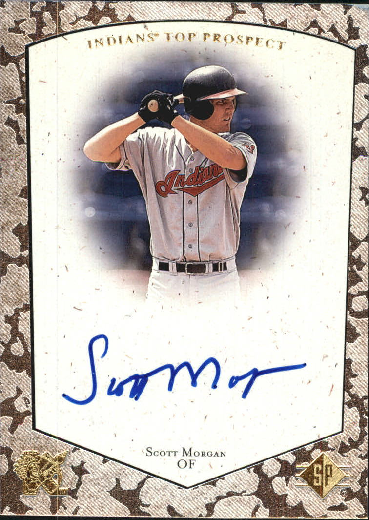 1998 SP Top Prospects Autographs #SM Scott Morgan