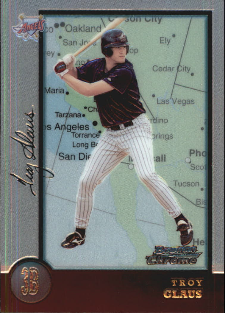 1998 Bowman Chrome International #134 Troy Glaus
