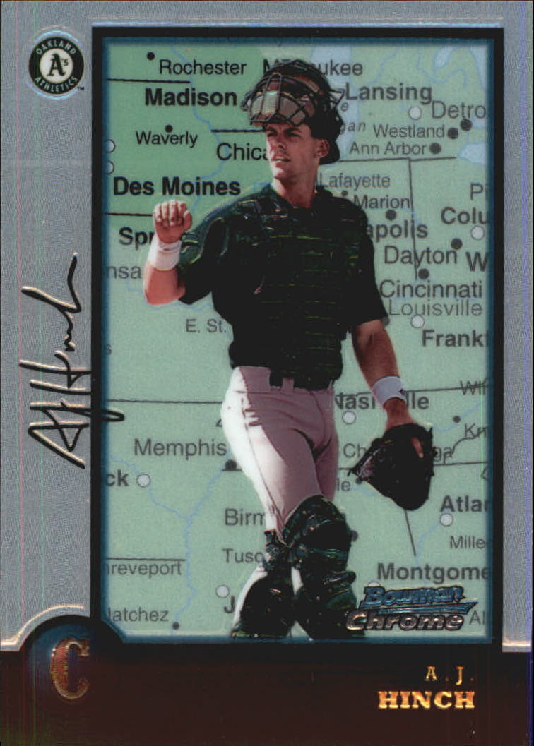 1998 Bowman Chrome International #216 A.J. Hinch
