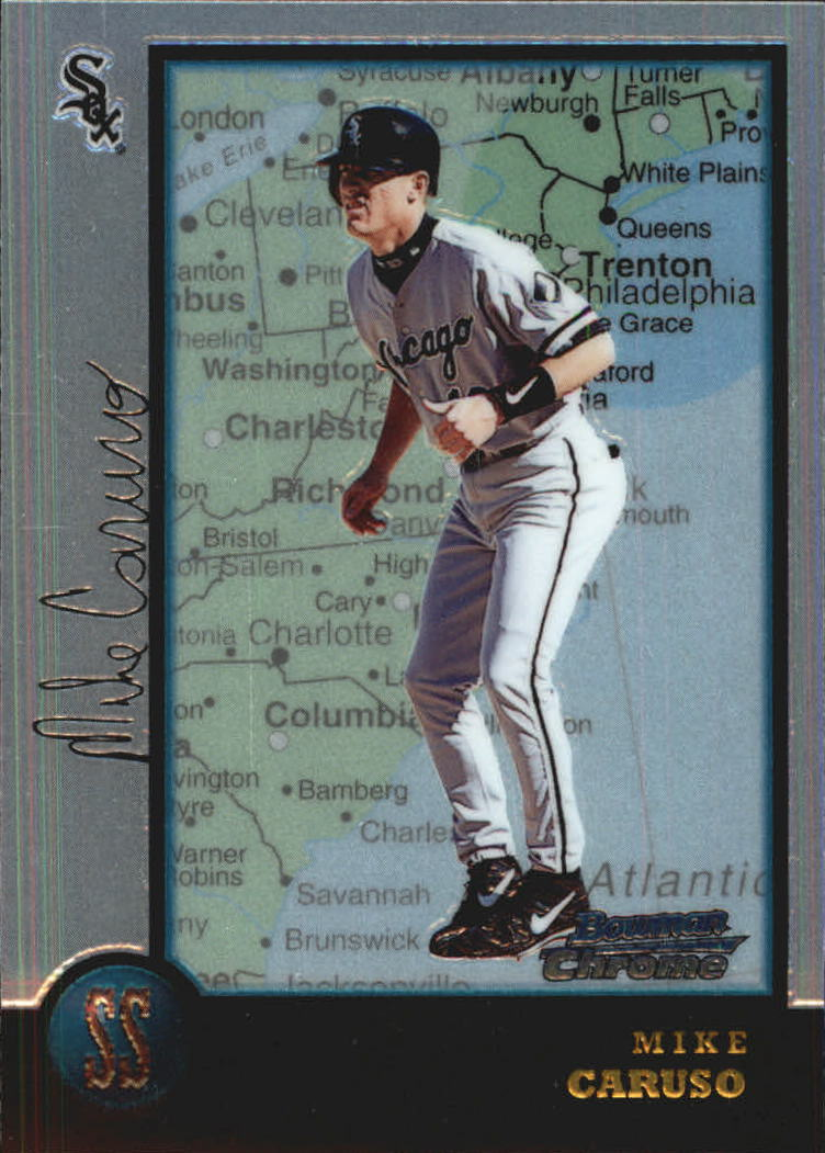 1998 Bowman Chrome International #299 Mike Caruso