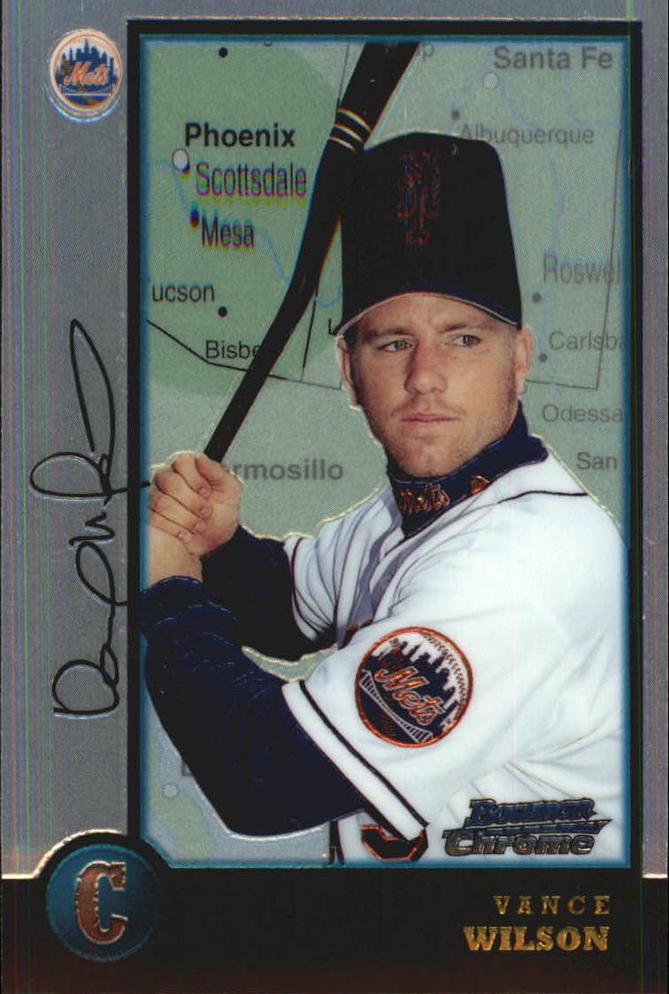 1998 Bowman Chrome International #393 Vance Wilson