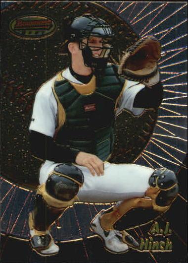 1998 Bowman's Best #176 A.J. Hinch