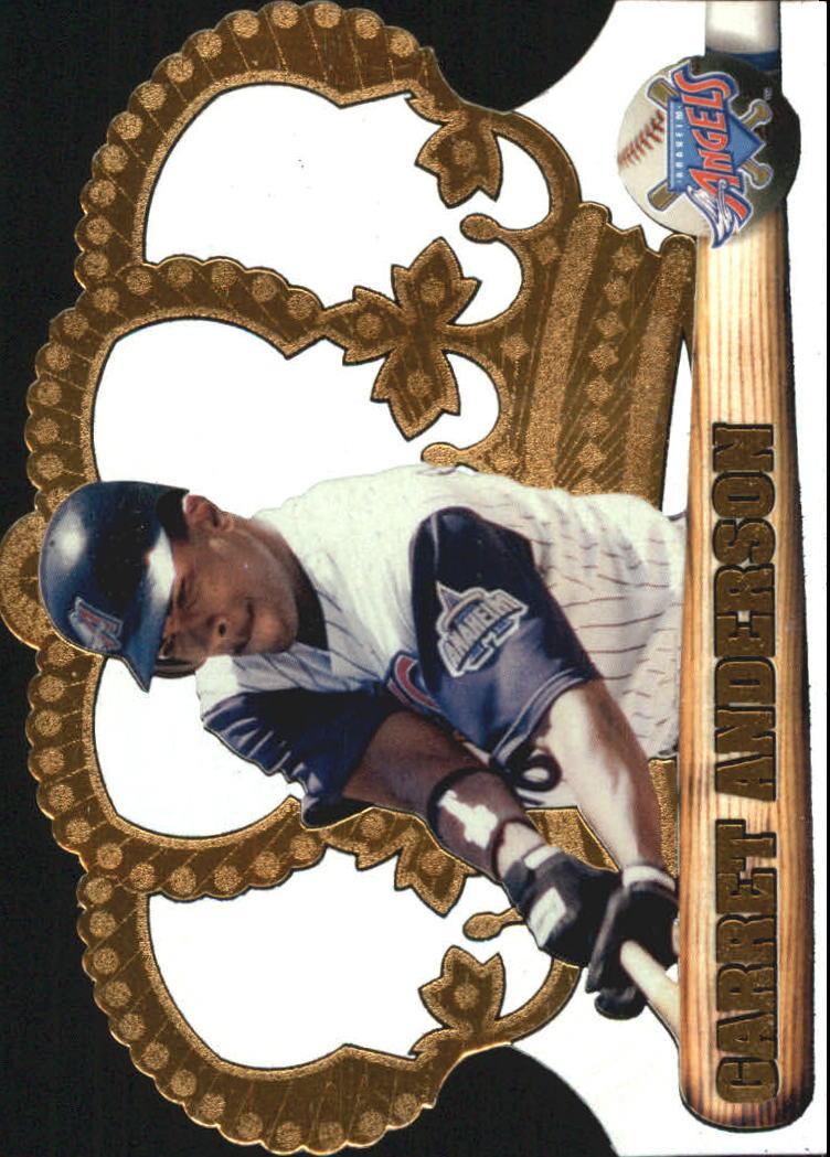 1998 Crown Royale #1 Garret Anderson