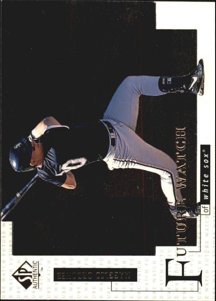 1998 SP Authentic #5 Magglio Ordonez FOIL RC
