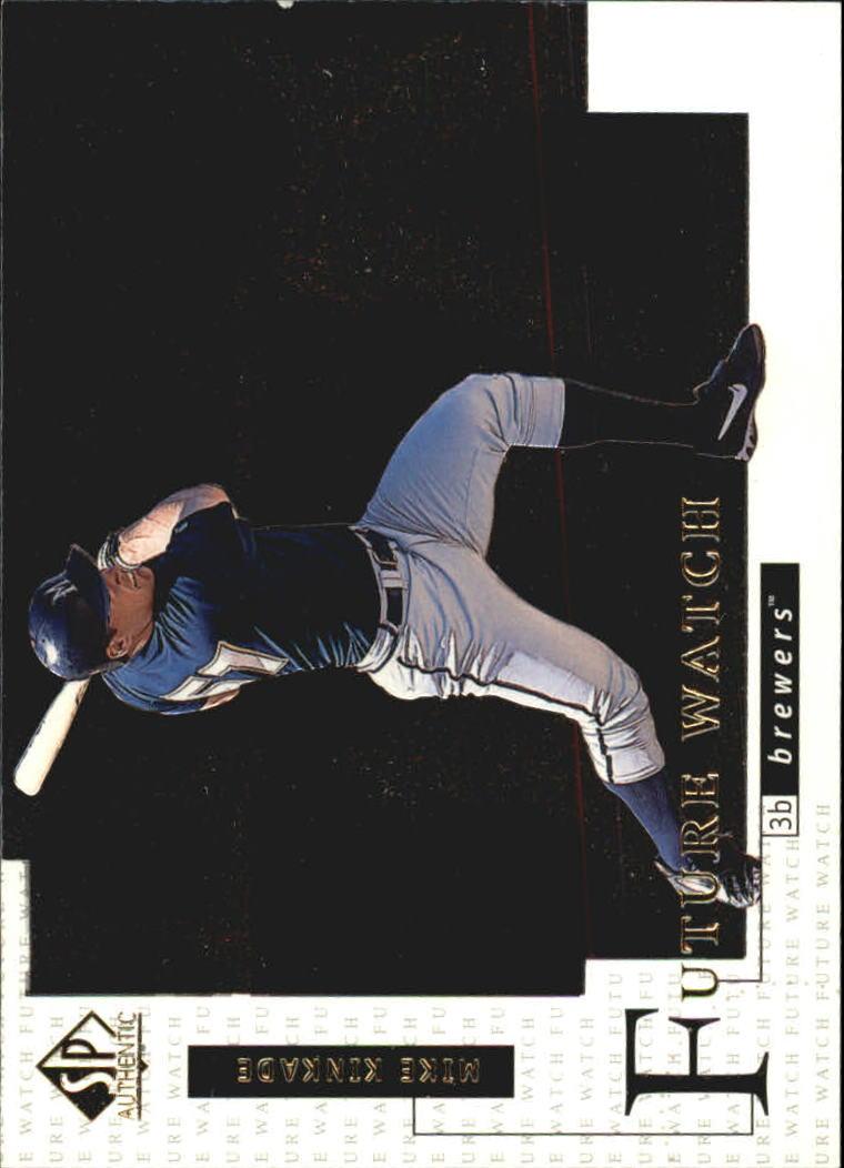 1998 SP Authentic #12 Mike Kinkade FOIL RC
