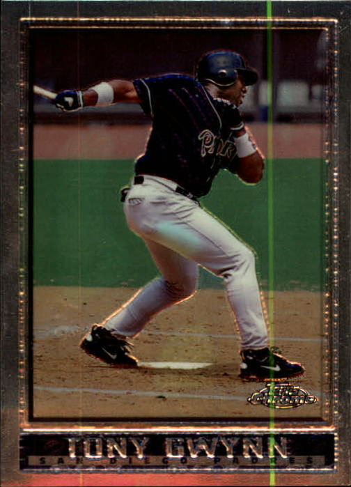 1998 Topps Chrome #1 Tony Gwynn