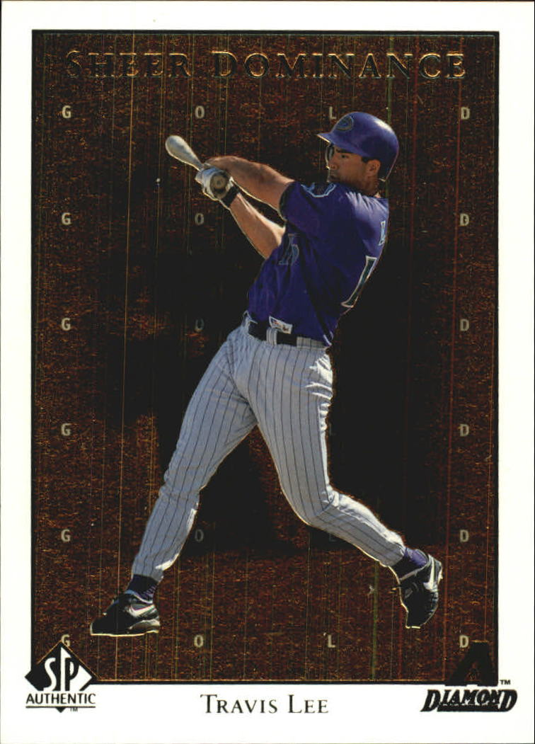 1998 SP Authentic Sheer Dominance Gold #SD5 Travis Lee