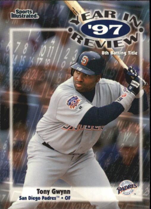 1998 Sports Illustrated #189 Tony Gwynn '97