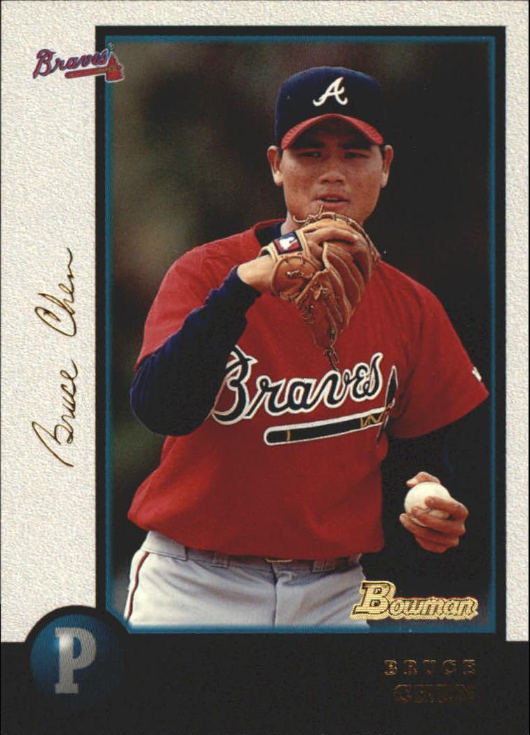 1998 Bowman Golden Anniversary #131 Bruce Chen