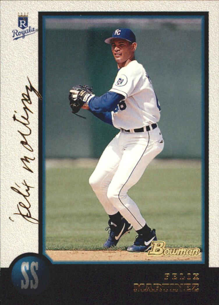 1998 Bowman Golden Anniversary #209 Felix Martinez