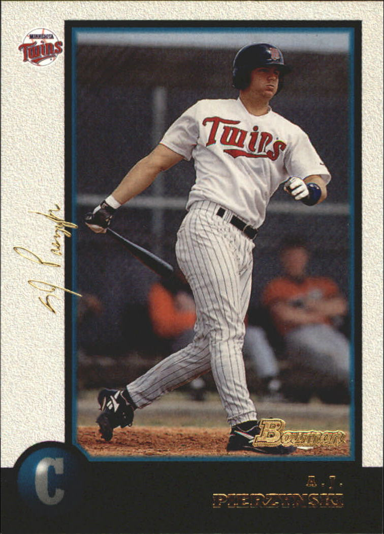 1998 Bowman Golden Anniversary #319 A.J. Pierzynski