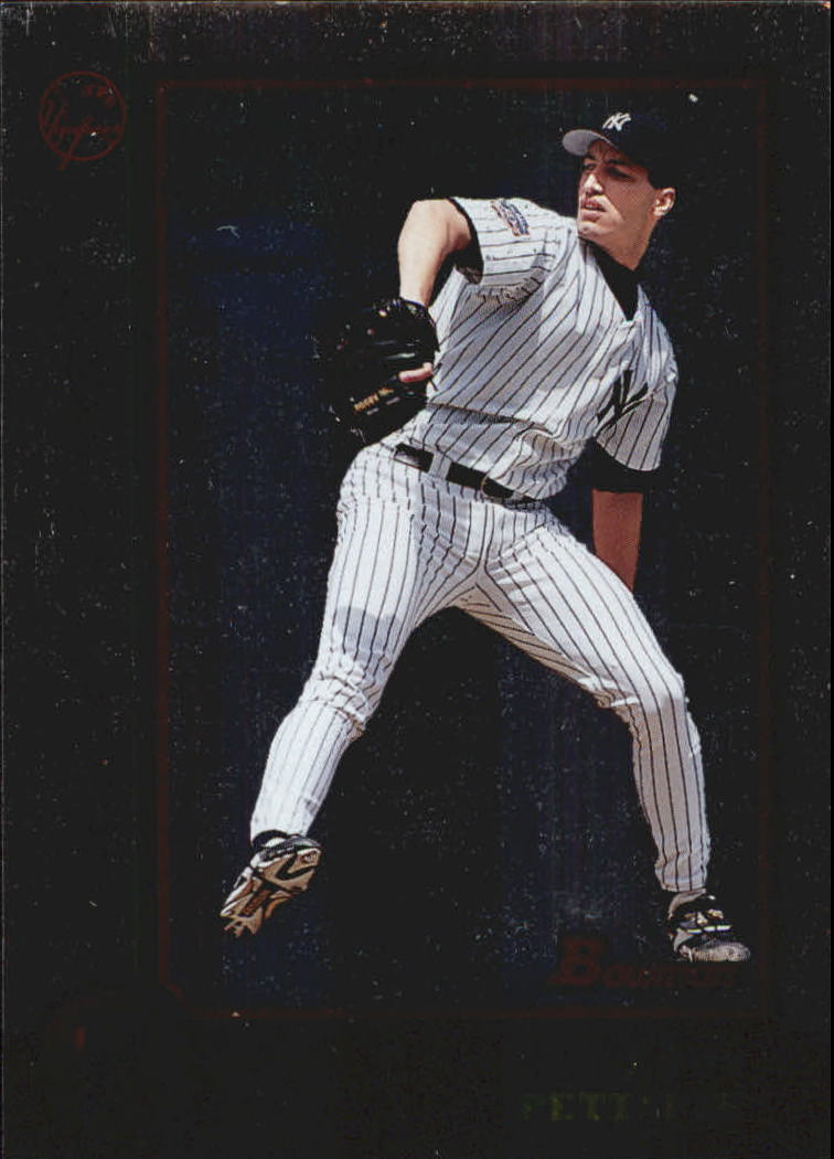 1998 Bowman International #3 Andy Pettitte