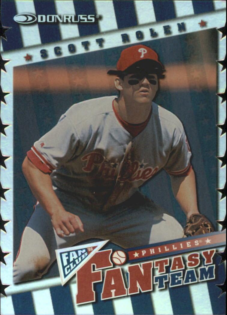 1994 Leaf Gold Stars//10000 #5 Lenny Dykstra Philadelphia Phillies Baseball Card
