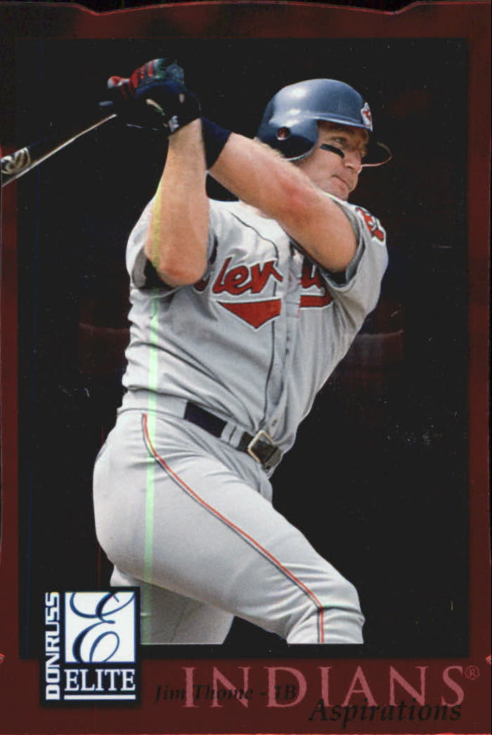 1998 Donruss Elite Aspirations #20 Jim Thome