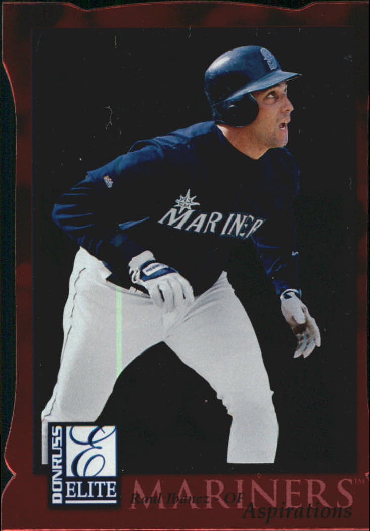 1998 Donruss Elite Aspirations #75 Raul Ibanez