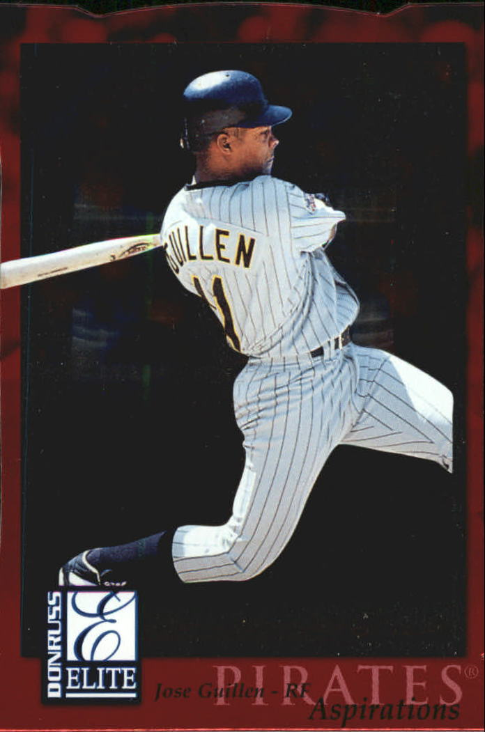 1998 Donruss Elite Aspirations #90 Jose Guillen
