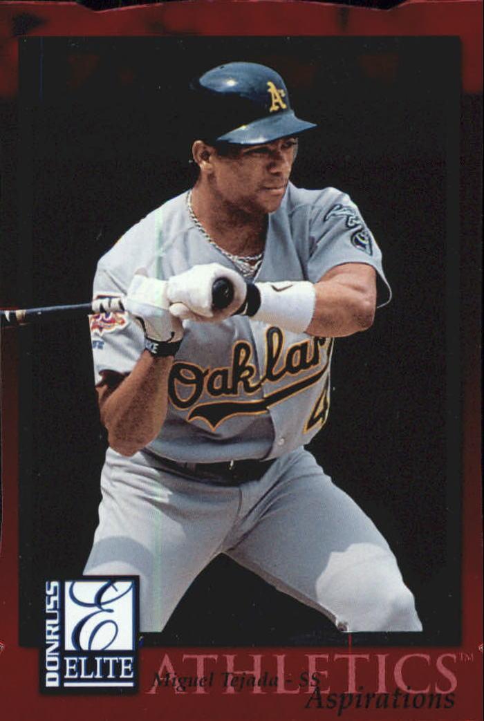 1998 Donruss Elite Aspirations #103 Miguel Tejada