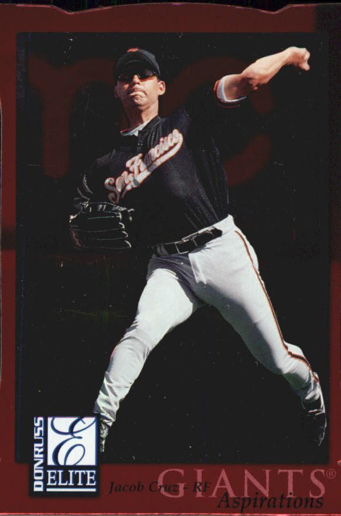 1998 Donruss Elite Aspirations #104 Jacob Cruz