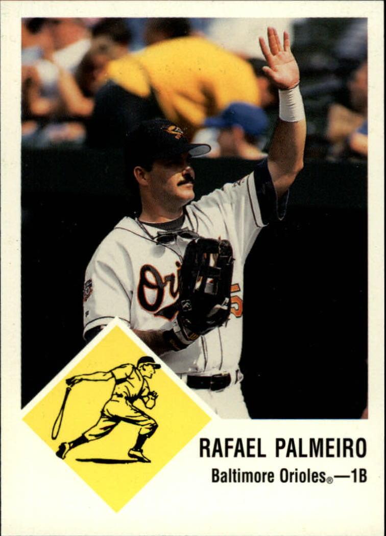 1998 Fleer Tradition Vintage '63 #7 Rafael Palmeiro
