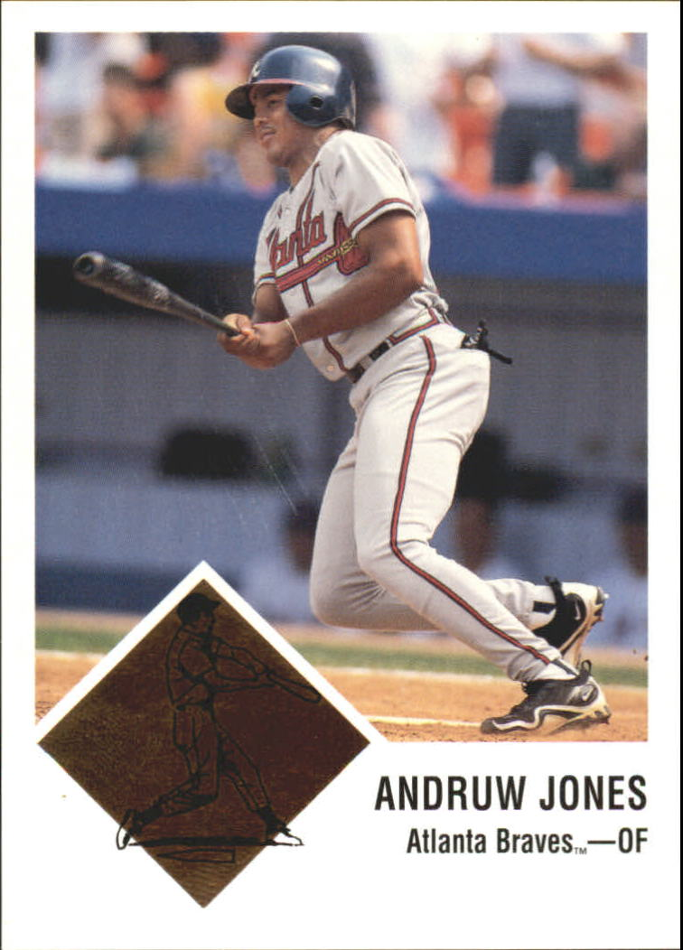 1998 Fleer Tradition Vintage '63 Classic #3 Andruw Jones