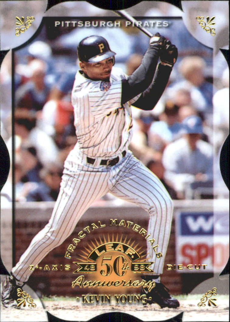 1998 Leaf Fractal Materials Z2 Axis #84 Kevin Young P