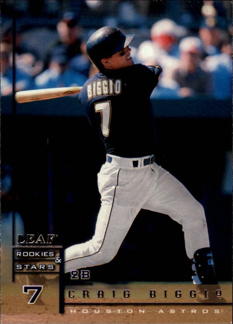 1998 Leaf Rookies and Stars #58 Craig Biggio