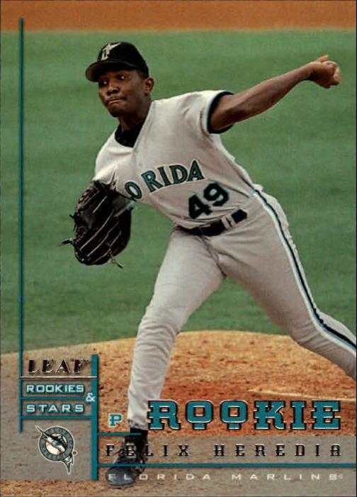 1998 Leaf Rookies and Stars #290 Felix Heredia