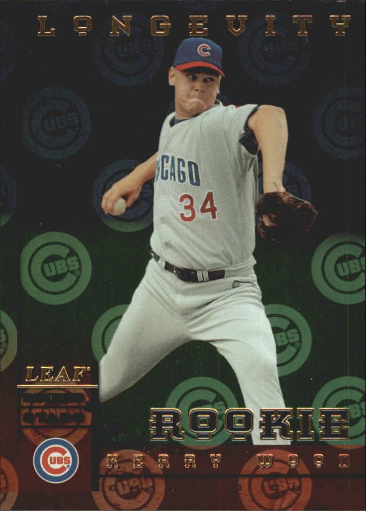 1998 Leaf Rookies and Stars Longevity #197 Kerry Wood