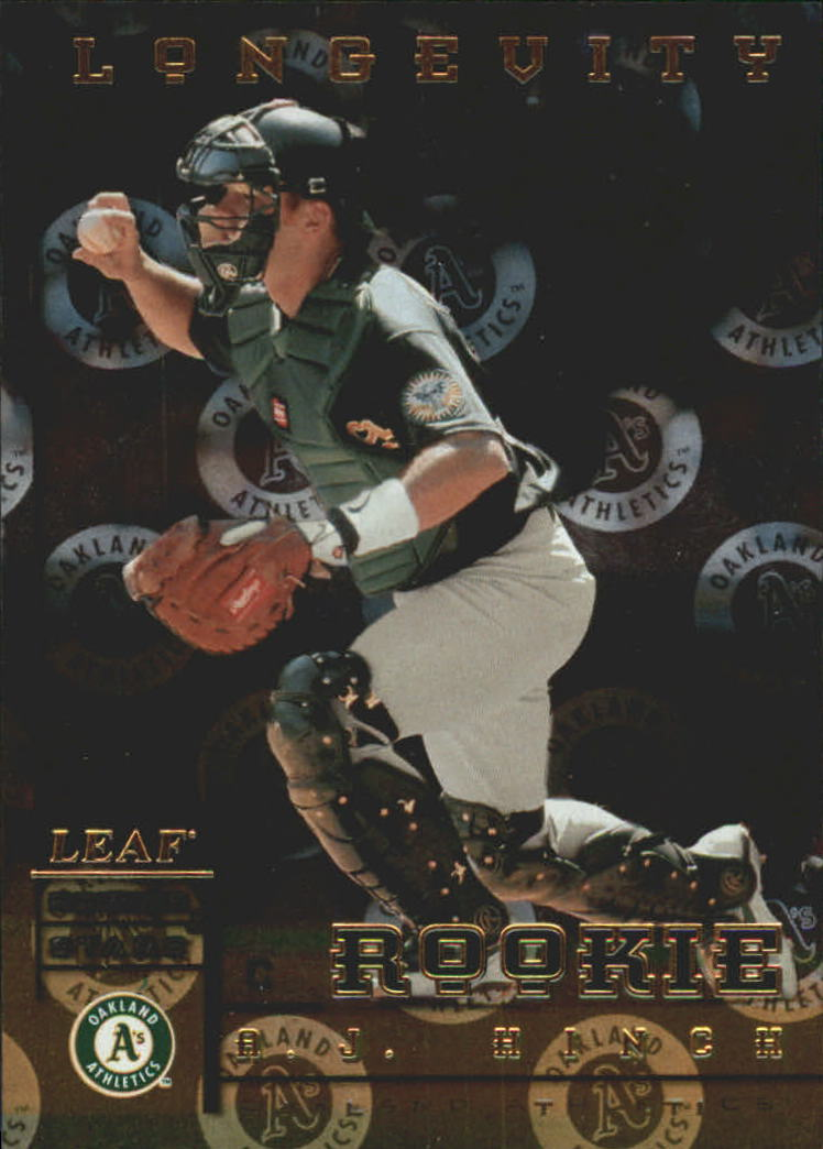 1998 Leaf Rookies and Stars Longevity #210 A.J. Hinch