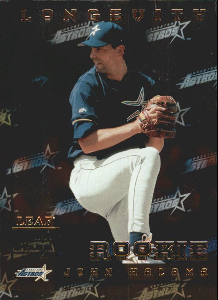 1998 Leaf Rookies and Stars Longevity #219 John Halama