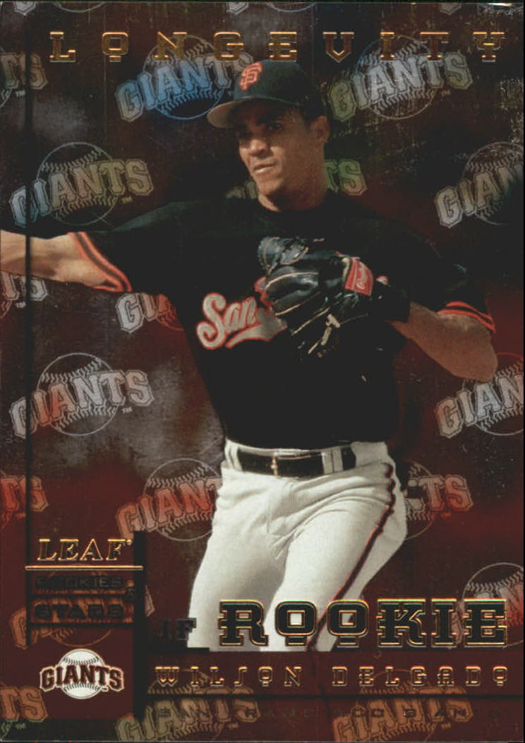 1998 Leaf Rookies and Stars Longevity #220 Wilson Delgado