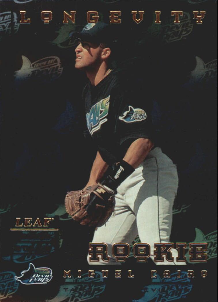 1998 Leaf Rookies and Stars Longevity #257 Miguel Cairo