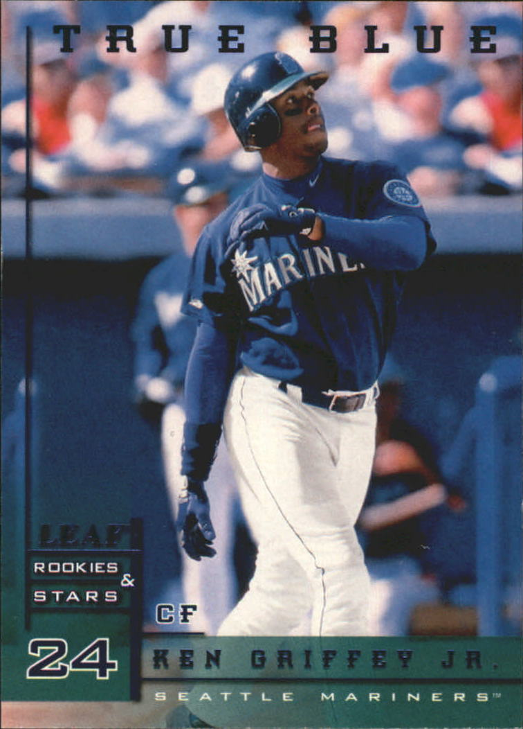 193b463638 Add to Cart. 1998 Leaf Rookies and Stars True Blue #26 Ken Griffey Jr.
